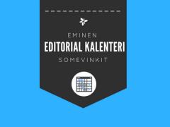 Mikä editorial-kalenteri onja mihin HR sitä tarvitsee?