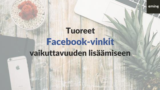 Vaikuttavampi työnantajabrändi Facebookissa – 4 helppoa teknistä vinkkiä