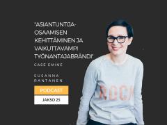 Asiantuntijaosaamisen kehittäminen ja vaikuttavampi työnantajabrändi – Podcast jakso 25