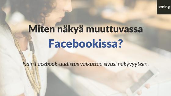 Facebookin uutisvirta muuttuu täysin – näin HR hyötyy uudistuksesta