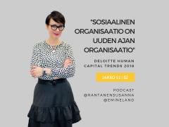 Sosiaalinen organisaatio on uuden ajan organisaatio – Podcast jakso 51