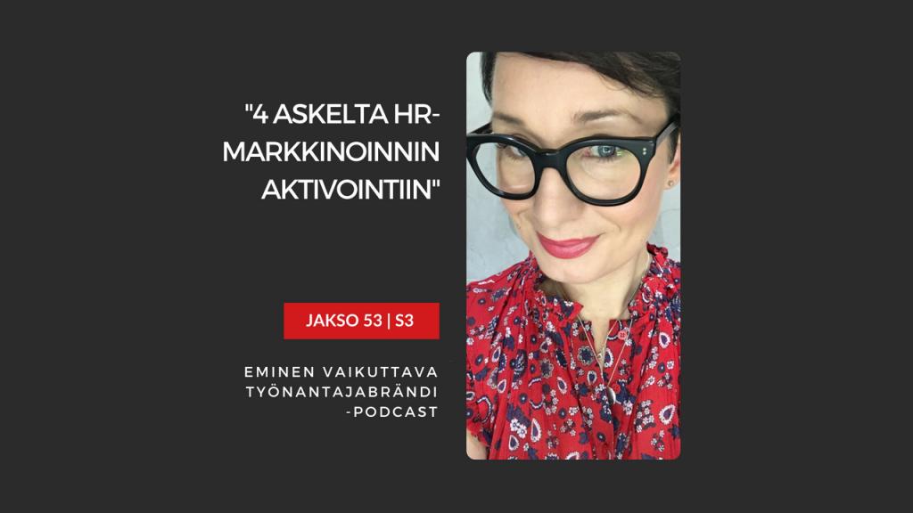 HR-markkinoinnin käynnistäminen Eminen podcast