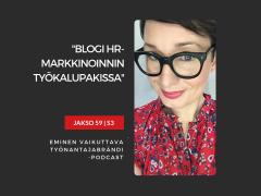 Blogi HR-sisältömarkkinoinnin työkalupakissa – Podcast jakso 59
