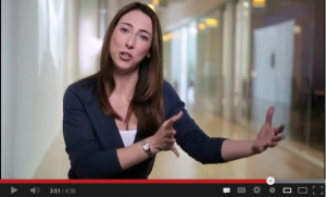 Screen Shot Apple Recruiter video