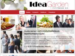 Emine tapahtumassa: Ideagarden 1-2.10.2013 Finlandia-talolla tapahtumapäättäjille