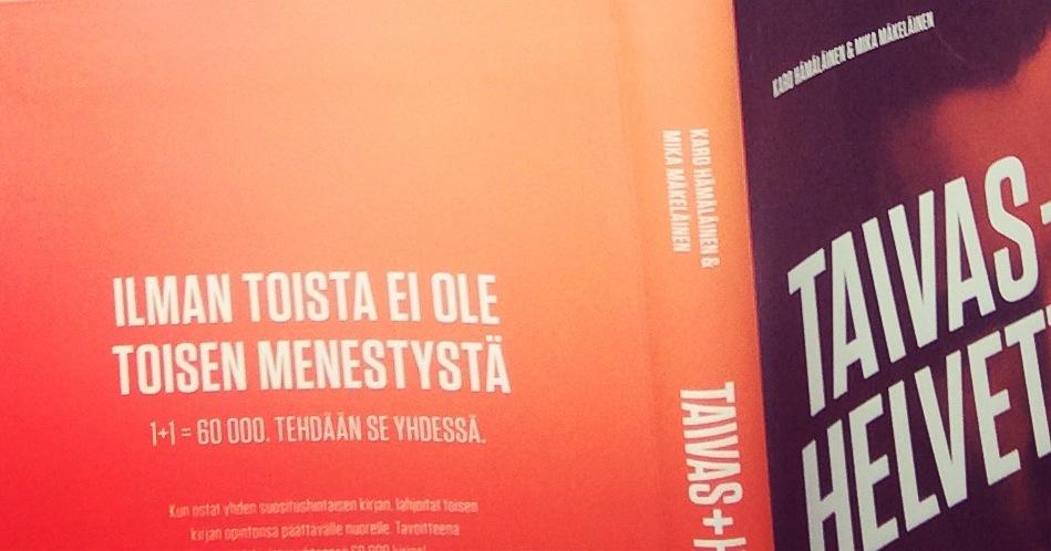 Susannan yrittäjätarina Taivas + Helvetti vol 2. -kirjassa