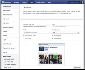 Facebook-like-box-plugin