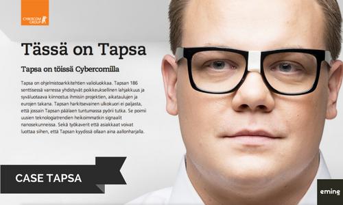 Moderni työnantajabrändi Case Tapsa