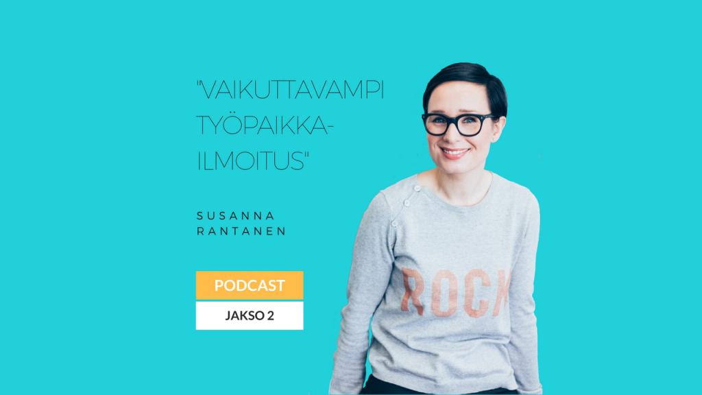Eminen podcast jakso 2 vaikuttavampi työpaikkailmoitus