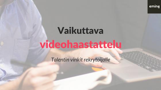 Videohaastattelu