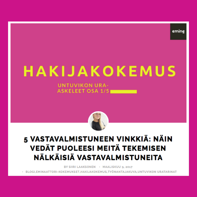 Hakijakokemus_untuvikon-uratarinat_Emine