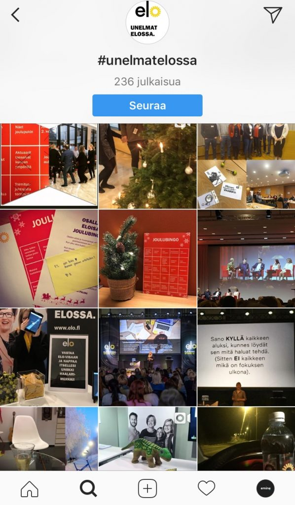 Instagram-päivitykset_unelmatelossa