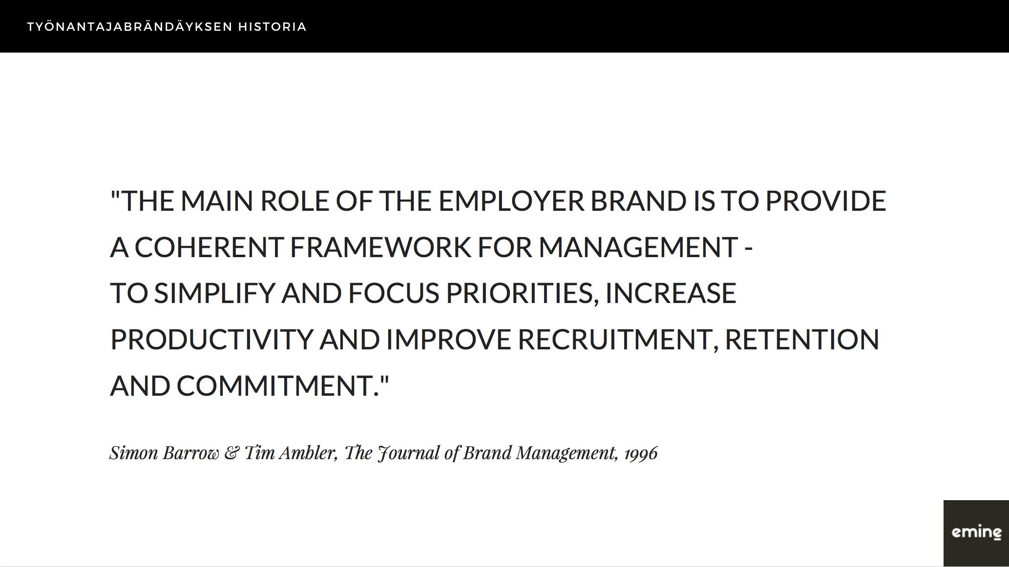 """Mitä """"employer branding"""" tarkoittaa? Eminen podcast"""