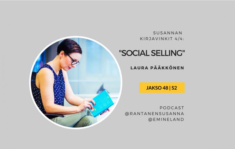 Esittelyssä Social Selling -kirja – Jakso 48