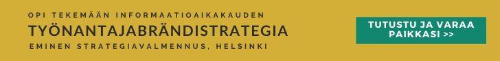 Vaikuttava työnantajabrändi strategia valmennus Eminen valmennus