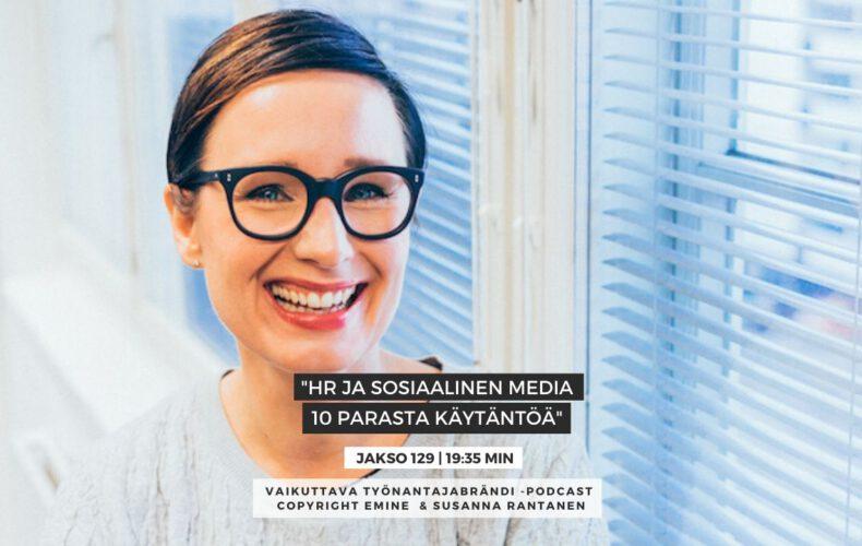 #129 HR ja sosiaalinen media: 10 parasta käytäntöä – Eminen podcast