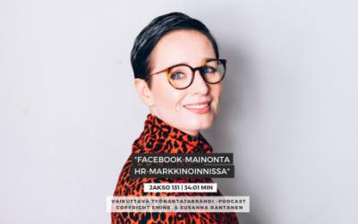 #131 Facebook-mainonta ja HR-markkinointi | Eminen podcast