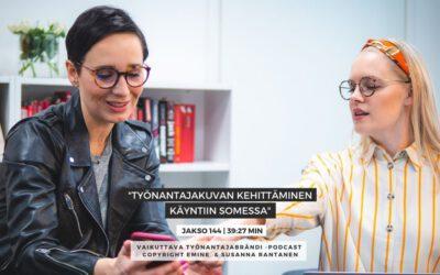 #144 Työnantajakuvan kehittäminen käyntiin sosiaalisessa mediassa | Eminen podcast