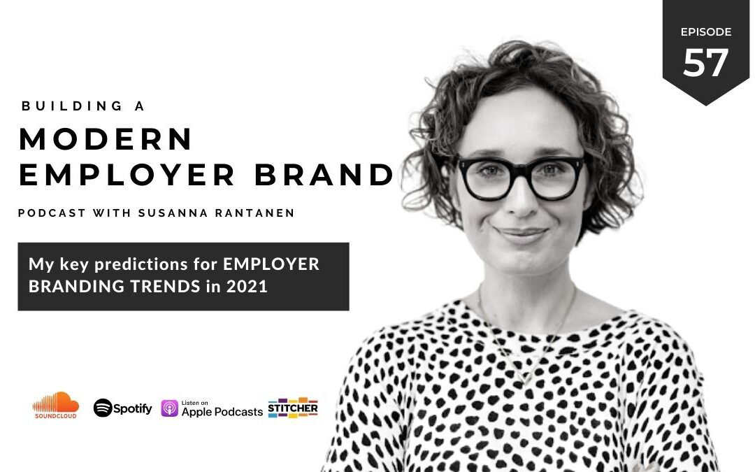 Employer Branding trend predictions for 2021