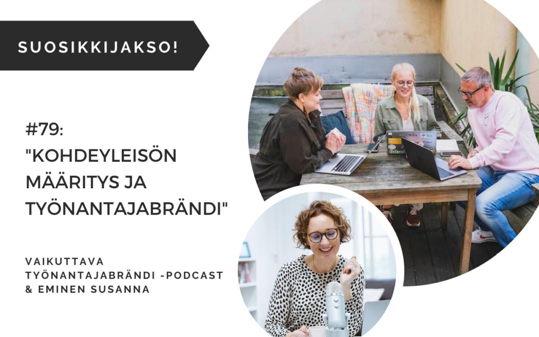 Kohderyhmän määritys ja työnantajabrändi – Podcast #79