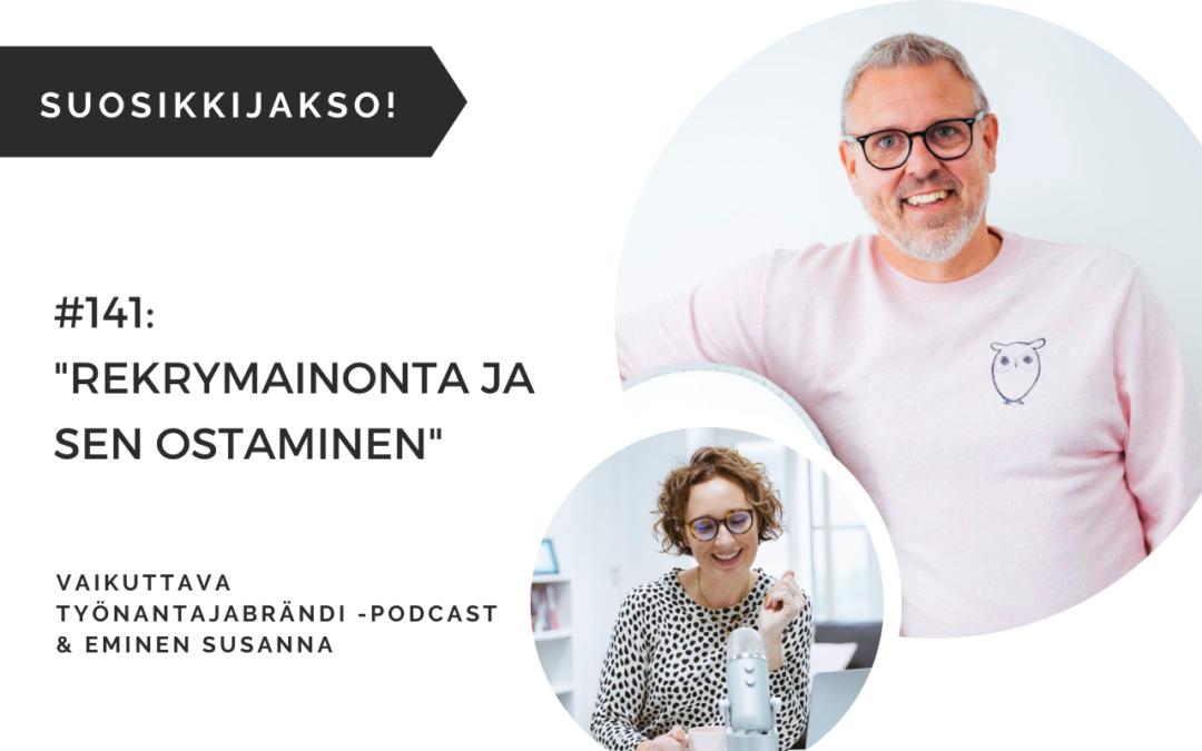 Eminen podcast rekrymainonta ja sen ostaminen rekrytointikampanja